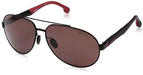 392fadc017 Carrera 8025-S Gafas de Sol para Hombre, Matt Black, 63 mm: Amazon ...