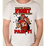 Kansas City Super Bowl Champions Travis Kelce Fight for your Right to Party Size 3T Unisex Super Bowl Sunday Football Toddler Kids Boy Girl Youth Tee Shirt KELC3TSS