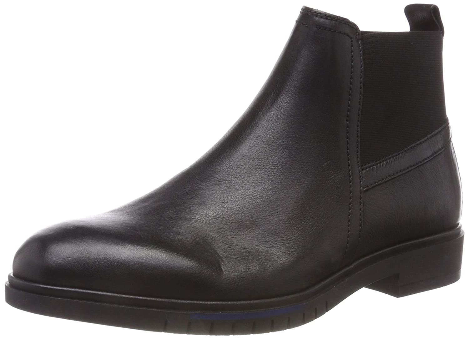 Tommy Hilfiger Flexible Dressy Leather Chelsea, Botas Hombre
