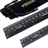 Offidea Steel Ruler 12 Inch and Steel Ruler 6