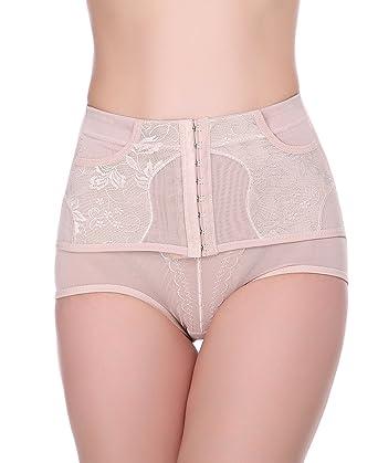 1283ad246 Shymay Women s Shapewear Brief High Waist Firm Control Shaping Thong  Panties