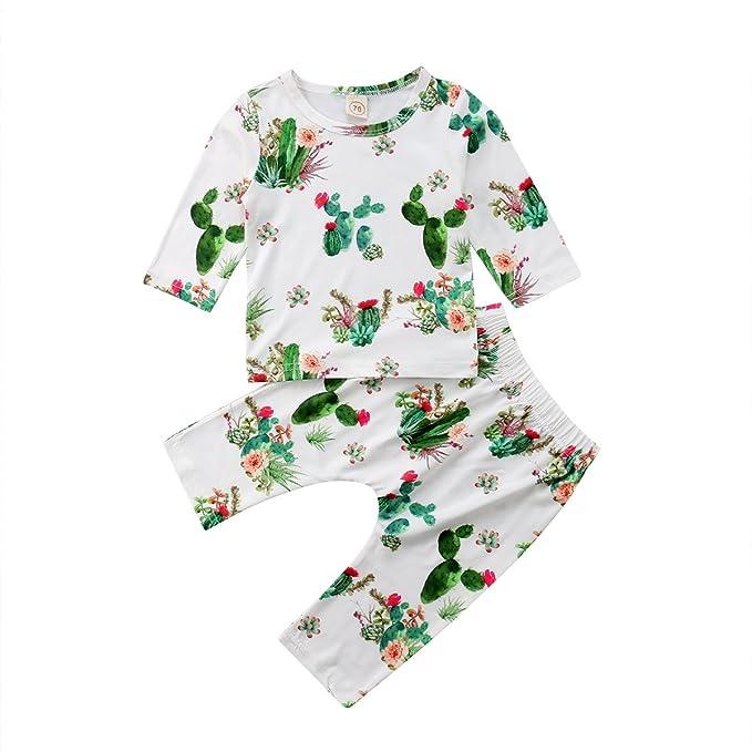 Amazon.com: Set de 2 cactus de algodón para bebé, niña, niño ...