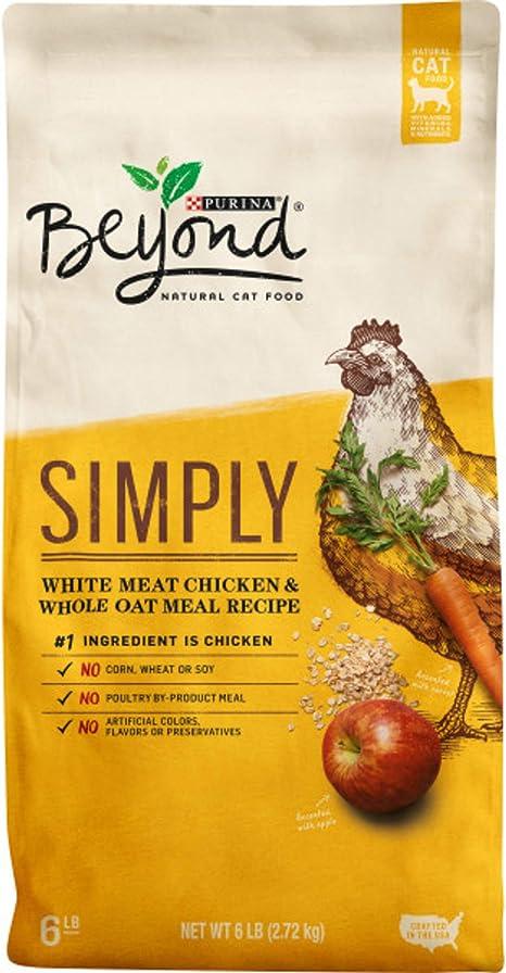 Purina Beyond Comida para gatos seco natural, para carne de pollo ...