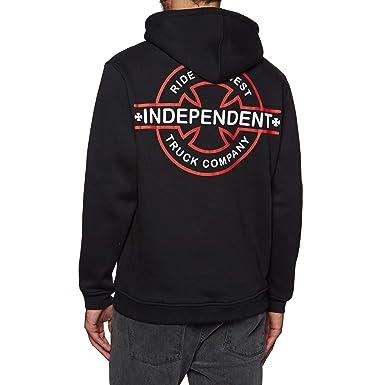 Independent Sudadera con Capucha Underground Negro (S, Negro)