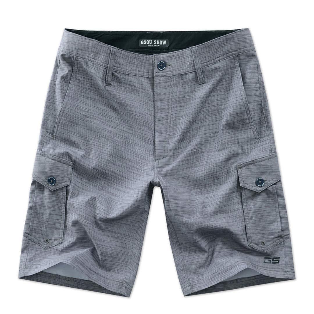 SCBMSAIURBF New Mens Shorts Surf Board Shorts Summer Sunscreen Sport Beach Homme Short Pants