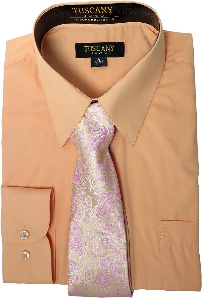 Conjunto de Corbata para Camisa de Manga Larga para Hombre, Color ...
