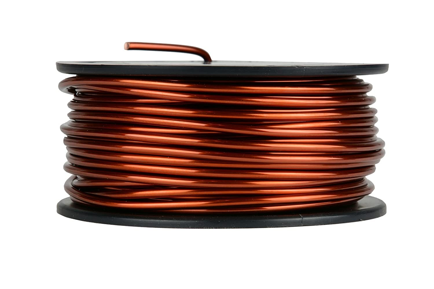 2 oz 196 ft 200/°C Magnetic Coil Winding TEMCo 27 AWG Copper Magnet Wire