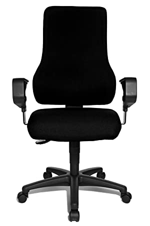 topstar top point synchro swivel chair black amazon co uk