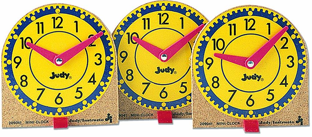 Judy Instructo Mini Judy Clocks Flash Card