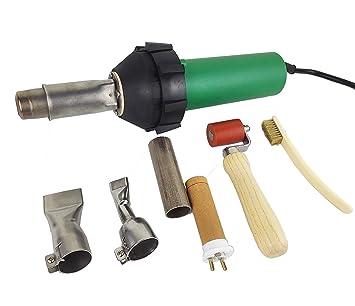 Pistola de soldadura profesional de aire caliente, de plástico, 1600 W: Amazon.es: Bricolaje y herramientas