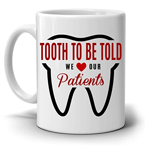 office coffee mugs. Fun Dentist Office Coffee Mug - A Cool Unique Gift For Anyone In The Dental Profession Mugs