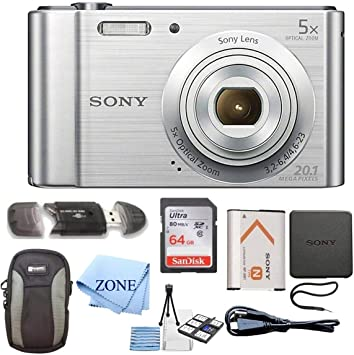 Amazon.com: Sony W800/S DSC-W800/S dscw800s 20 MP cámara ...