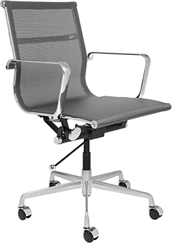Laura Davidson Furniture SOHO Mesh Management Chair Dark Grey