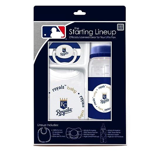 MLB bebé fanático babero, biberón y chupete Set de regalo ...