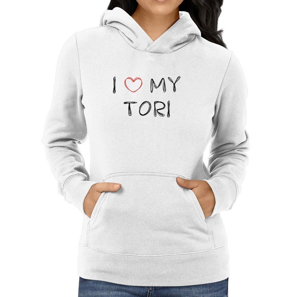 comtempptt I love my Tori Women Hoodie