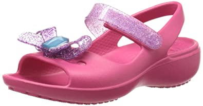 fe20b0cfe crocs Keeley Springtime PS Mini Wedge Mary Jane (Toddler Little Kid)