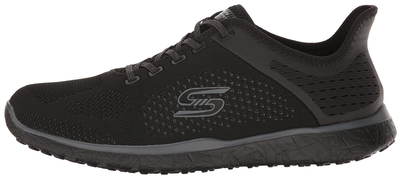 Skechers Sport Women's Microburst Supersonic Fashion Sneaker B01J2S18TC 7 B(M) US Black
