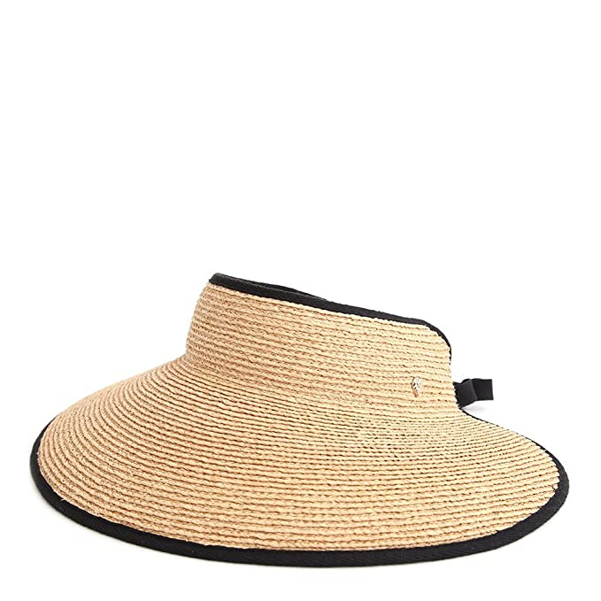 87c870b9 Image Unavailable. Image not available for. Colour: Helen Kaminski Mai  Visor Sun Hat ...