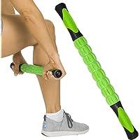 Vive Muscle Roller Stick – Masaje corporal para tejidos profundos – Masajeador para dolores de espalda, cuello, piernas…