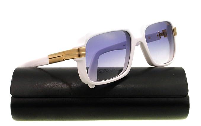 91ef649ea68871 Cazal - Lunettes de soleil - Homme Blanc Blanc  Amazon.fr  Vêtements ...