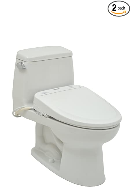 TOTO MS854114SG-SW574-01 One Piece Toilet and Washlet Combination ...