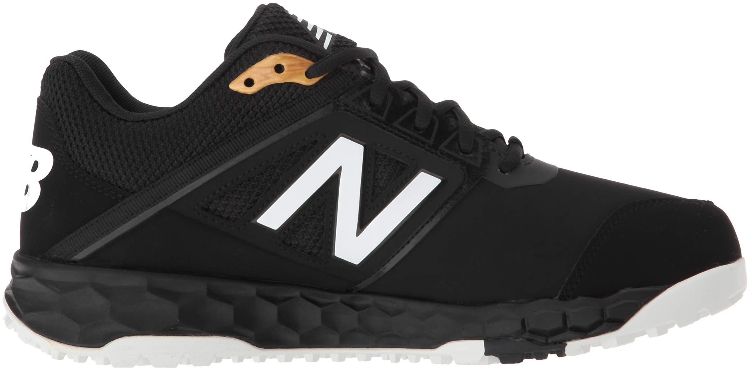 New Balance Men's 3000v4 Turf Baseball Shoe, Black, 5 D US by New Balance (Image #7)