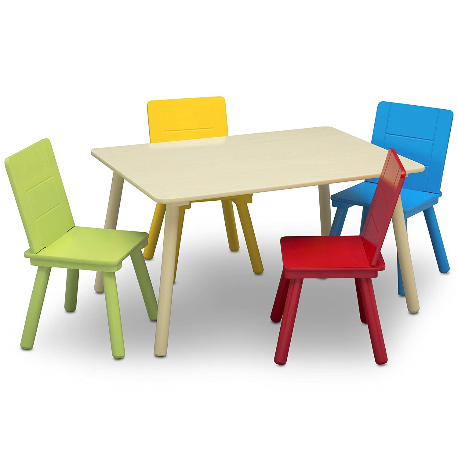 Super Details About Delta Children Kids Chair Set And Table 4 Chairs Included Frankydiablos Diy Chair Ideas Frankydiabloscom