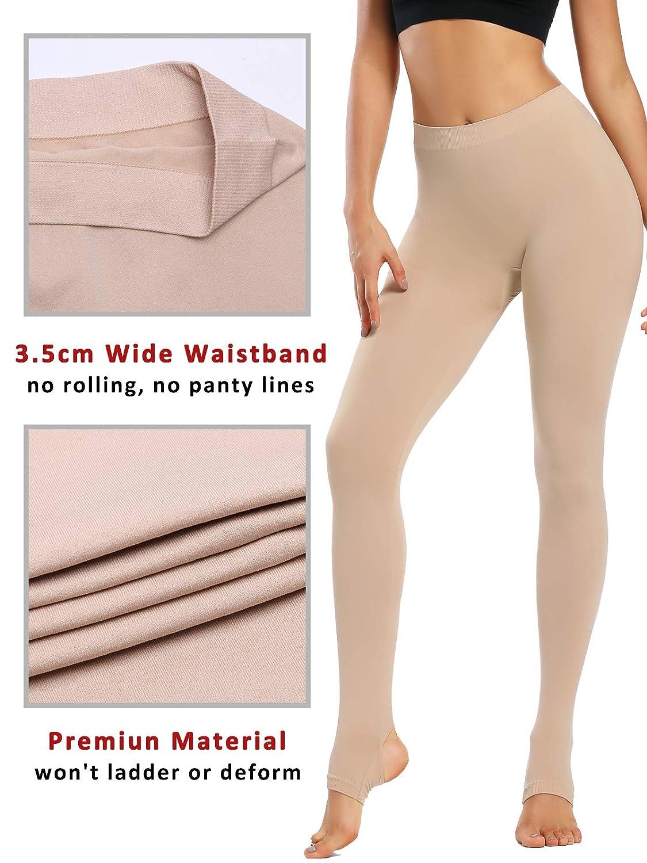 WOWENY Collant Calzamaglia Termici Donna 120 den Collant Modellante in Nylon Pantyhose Collant Coprente per Tutti i Giorni Thermal Leggings Tights