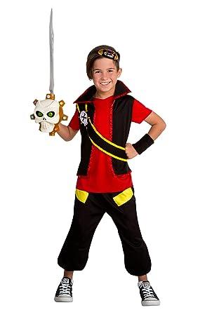Amazon.com: Zak Storm - Disfraz de zak para niño: Clothing