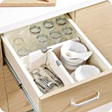 Amazon Com Dream Drawer Organizer Set Of 2 White Spring