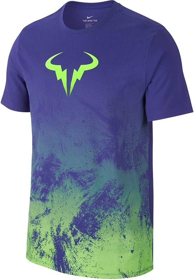 NIKE M Nkct tee Camiseta Línea Rafa Nadal, Hombre: Amazon.es: Ropa y accesorios