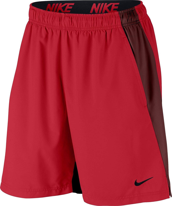 Nike Men's Flex Woven Shorts (University Red/Black, XX-Large)