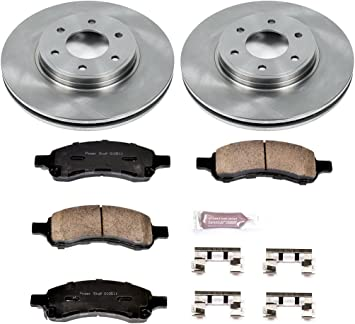 Autospecialty KOE1453 1-Click OE Replacement Brake Kit
