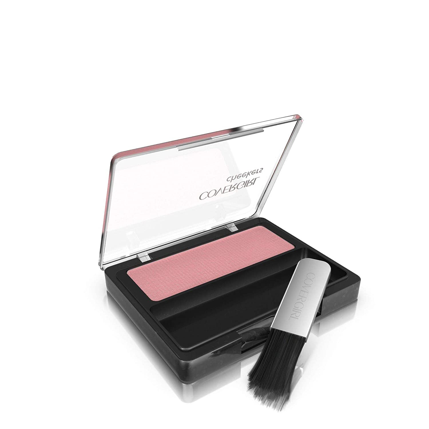 COVERGIRL Cheekers Blendable Powder Blush Rose Silk, .12 oz (packaging may vary), 1 Count