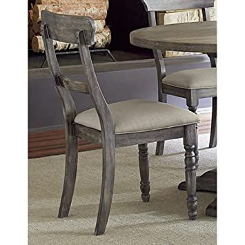 Amazoncom Progressive Furniture Muses Ladderback Chair Chairs