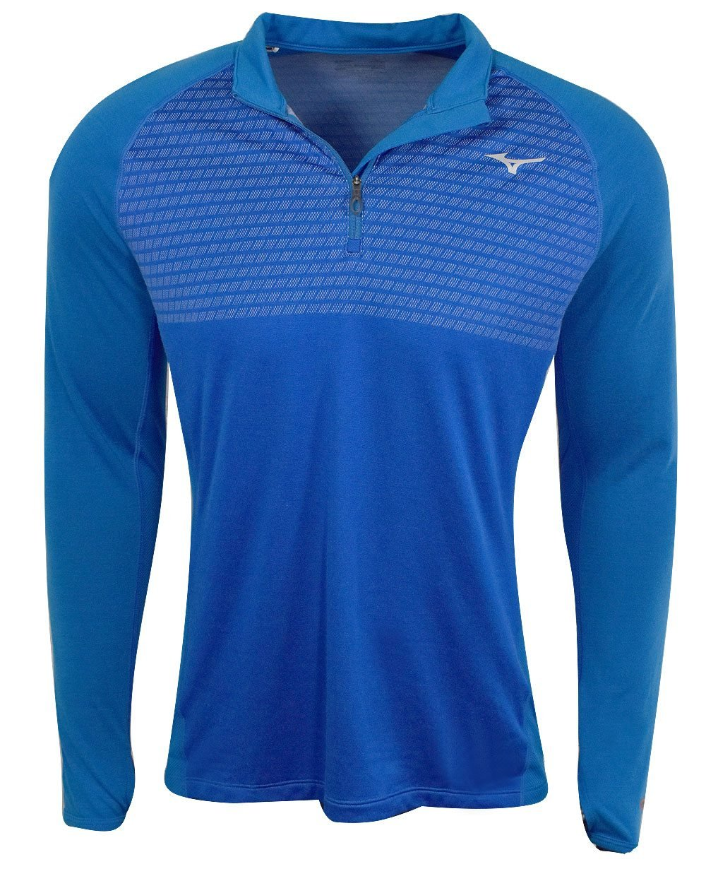 Mizuno Running Herren 's Breath Thermo Double Knit Half Zip Tee
