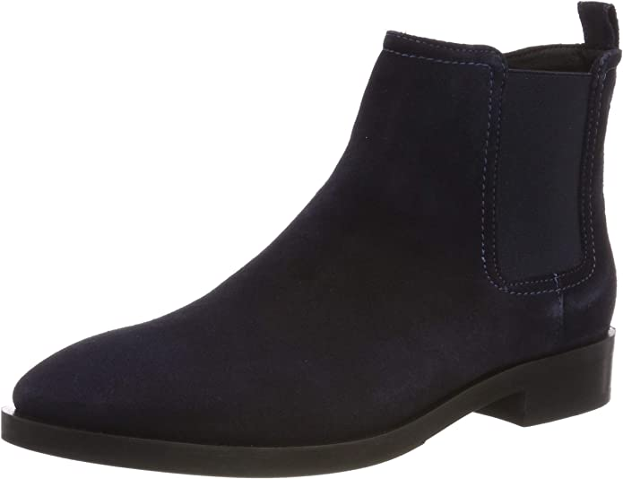 TALLA 36 EU. Geox Donna Brogue A, Botas Chelsea Mujer
