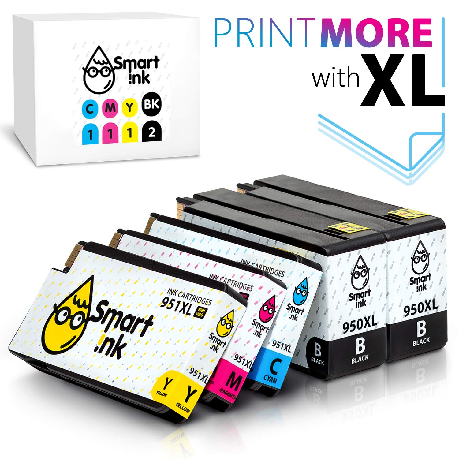 Cartucho Alternativo HP 950XL 5 Un. SMART INK