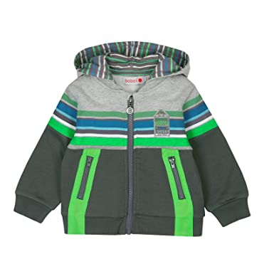 3a48ba3abb Boboli Street Style Jungen Sweat Jacke: Amazon.de: Bekleidung