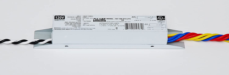 amazon com: fulham lighting fulham sugar cube ballast, sc-120-213-lt5: home  improvement
