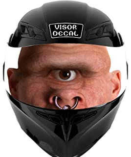 V08 Cyclops VISOR TINT DECAL Graphic Sticker Helmet Fits: Icon Shoei Bell HJC Oneal Scorpion