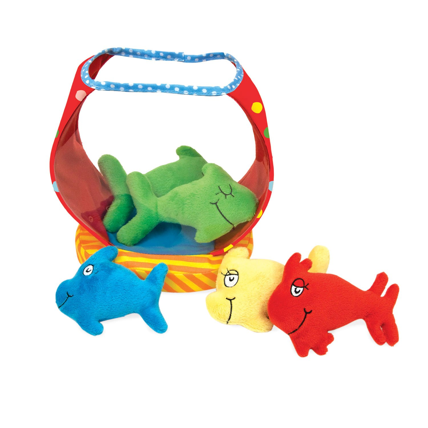 amazon com manhattan toy dr seuss one fish bowl baby activity