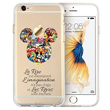 coque silicone iphone 6 disney