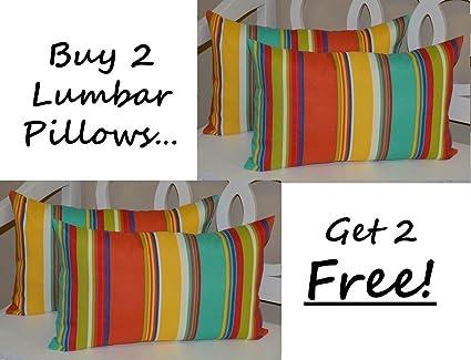 Amazon Set Of 40 Indoor Outdoor Decorative Lumbar Interesting Decorative Lumbar Pillows For Chairs