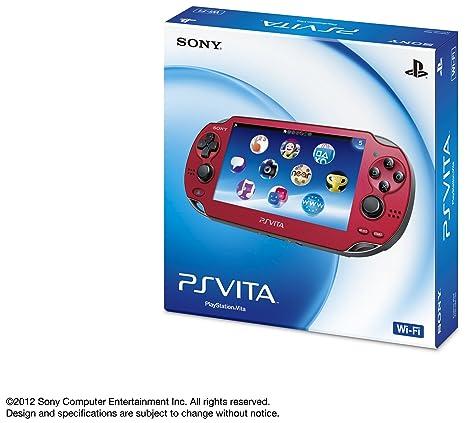Amazon.com: PlayStation Vita - WiFi Red - Versión japonesa ...