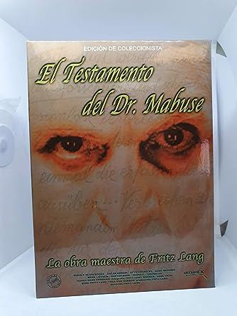 El Testamento del Dr. Mabuse (Edición Especial) 2 discos [DVD] [Internacional]