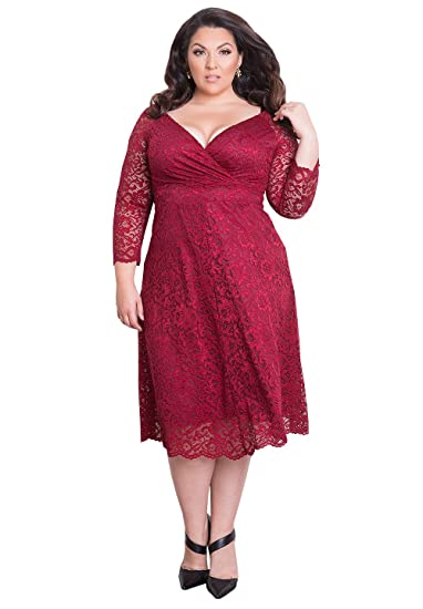 Plus Size Designer Cocktail Dresses