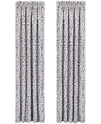 Babylon Curtains Pair By J Queen