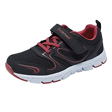 BODENSEE Boy Child Toddler Little Kid Infant Sneakers Low Top Athletic  Walking Running Outdoor Shoes 8b070501e