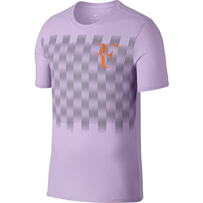 buy best really comfortable clearance prices Amazon.com : NikeCourt RF Men's T-Shirt (X-Large, Violet ...